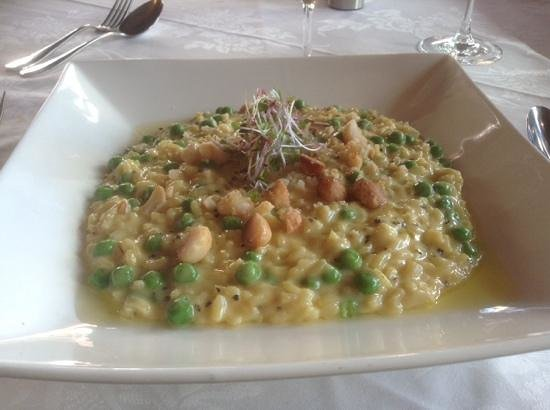 Astor Grill: risotto