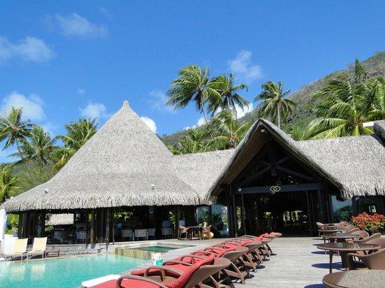 Sofitel Bora Bora Marara Beach Resort: Хижины