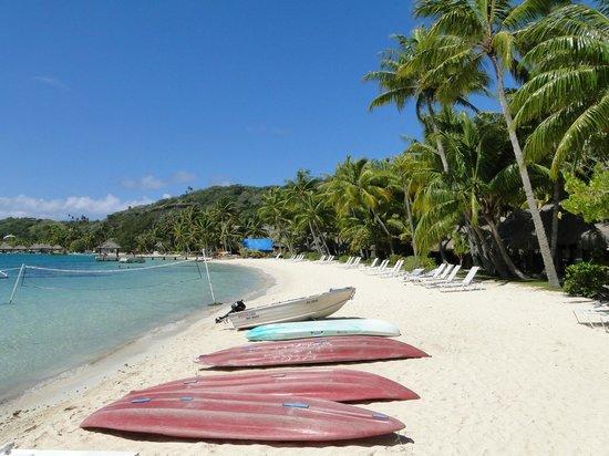 Sofitel Bora Bora Marara Beach Resort: Пляж