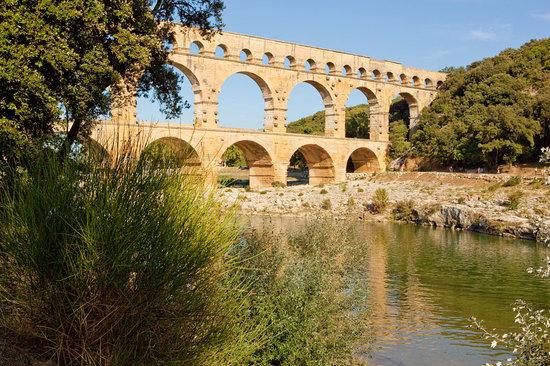 Vers-Pont-du-Gard, Frankrig: Le Pont du Gard