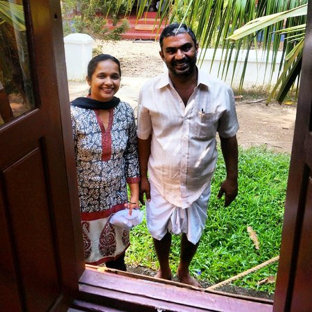 Thevercad Alleppey Homestay: saying goodbye
