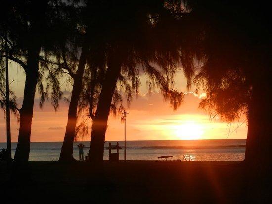Escale Vacances : Coucher de soleil