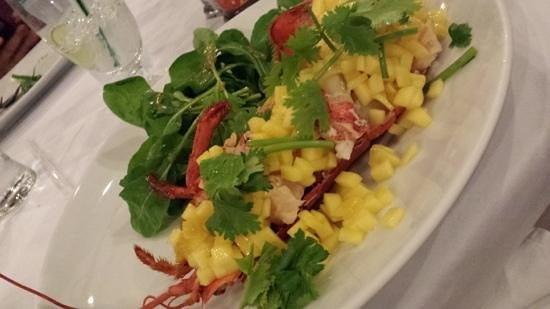 Happy Elephant: Lobster salad with Mango...delicious