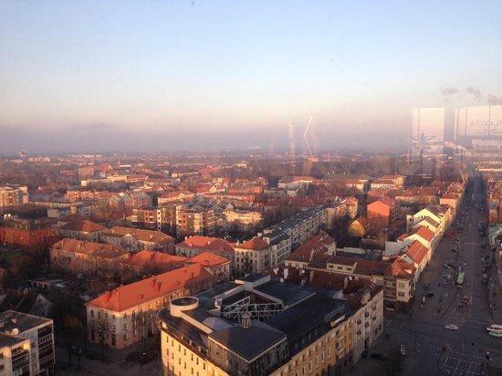 Amberton Klaipeda: View from The lobby