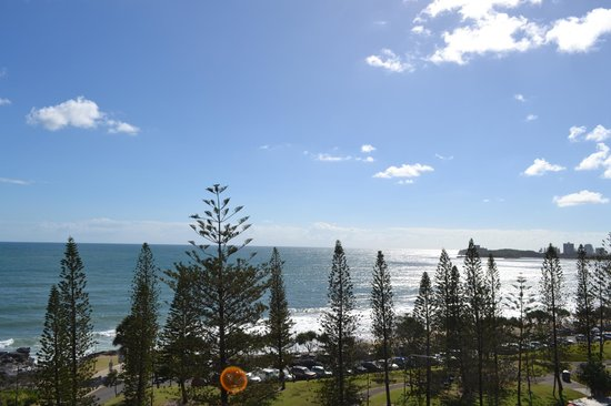 Oceans Mooloolaba : View from 6th Floor Apartment