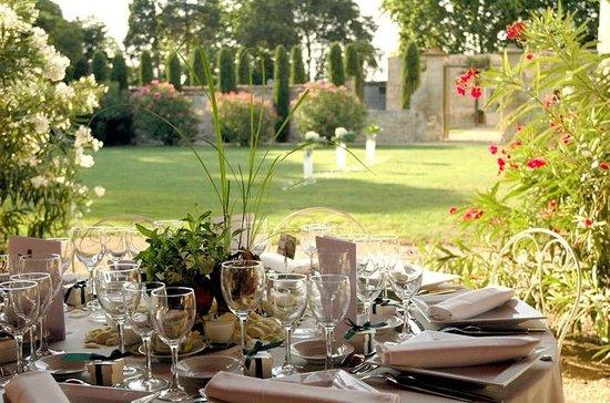Château de Pouget : Les pelouses
