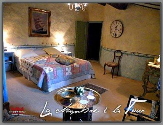 Château de Pouget : La Chambre à la Tour
