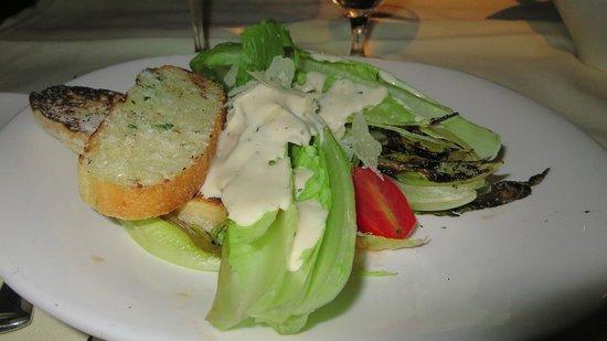 Palm Court Italian Grill: Salad.