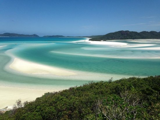 Airlie Beach, Australia: View of Hill Inlet from the lookout