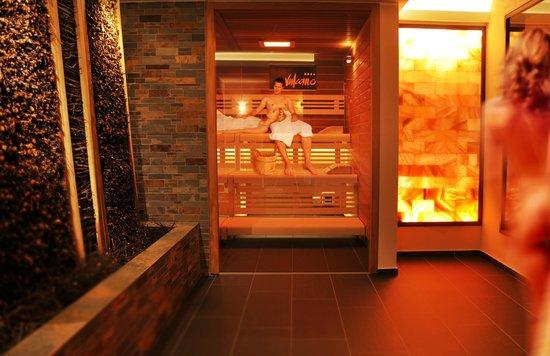 Hotel Vulcano Lindenhof: Neue Finnische Sauna im Little Spa