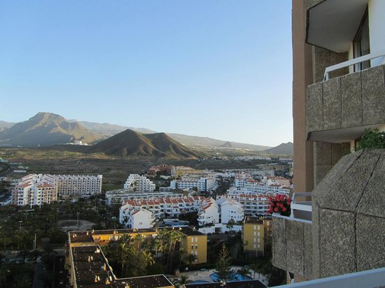 TRYP Tenerife : View towards Mount Tiede (just out of view)