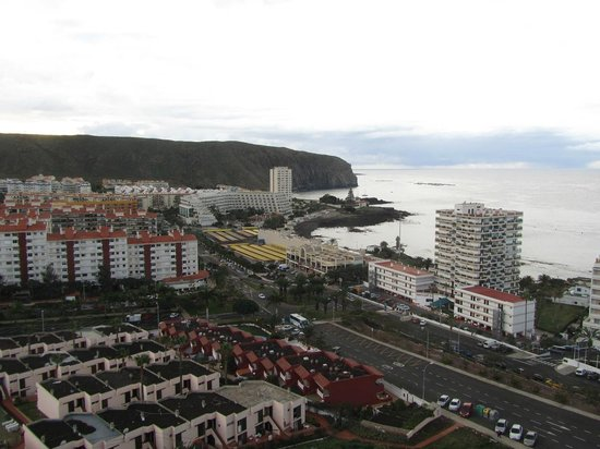 TRYP Tenerife : View from the sunnier side of the hotel