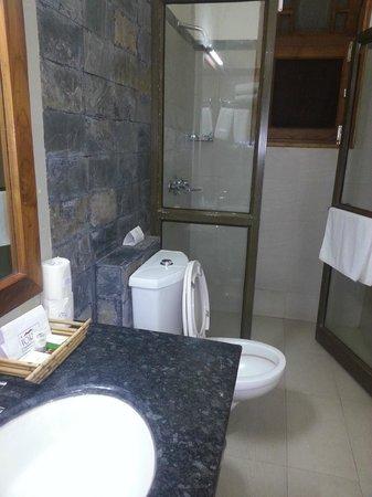 IORA - The Retreat,Kaziranga: Bathroom in the Luxury Room