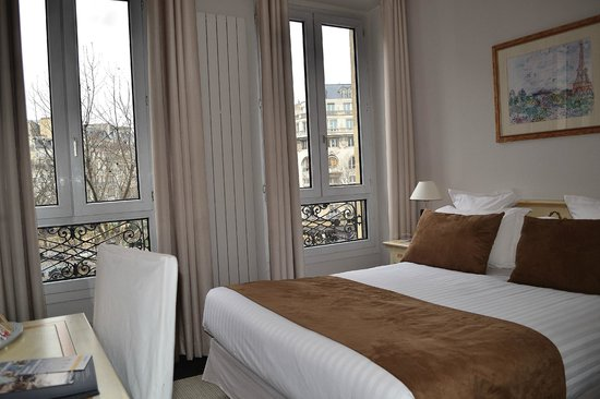 Quality Hotel Malesherbes: Chambre Double