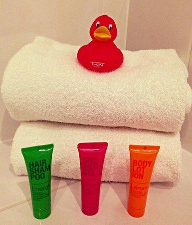 Thon Hotel EU: В ванной