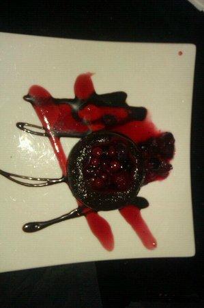 Restaurante Alfileritos 24: Coulant de chocolate