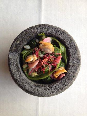 Restaurante La Salita: pasta de plancton