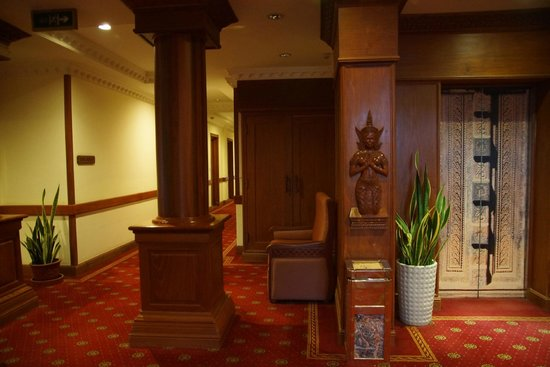 New Angkorland Hotel : holl
