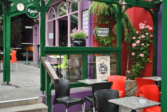 Maggie May's Bar Wexford : Heated Beer Garden