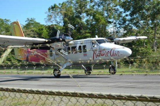 Lapa Rios Ecolodge Osa Peninsula: Natureair flight into Pt. Jimenez; Interesting trip!