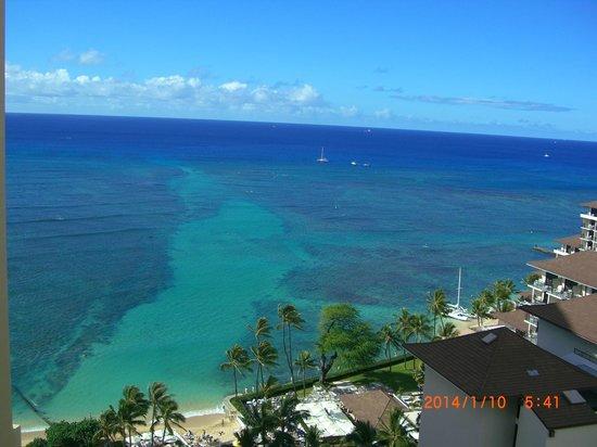 Waikiki Parc Hotel: ベランダからの眺め