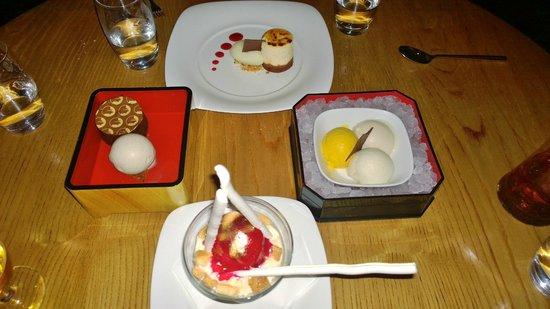 Atlantis, The Palm : Desserts at Nobu