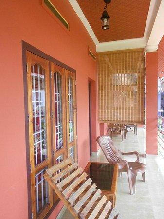 Kerala House : Balcony