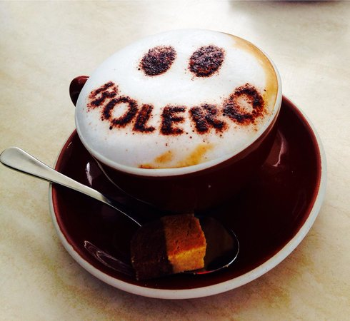 Bolero Tapas Bar & Restaurant: Love my coffee here