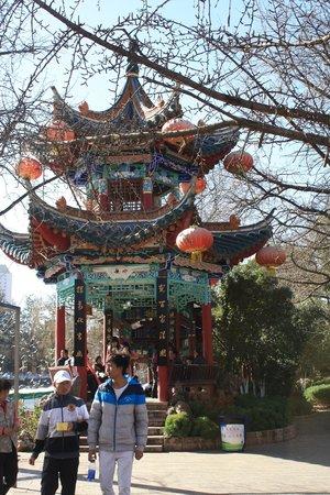 Green Lake (Cui Hu): nice little pagoda