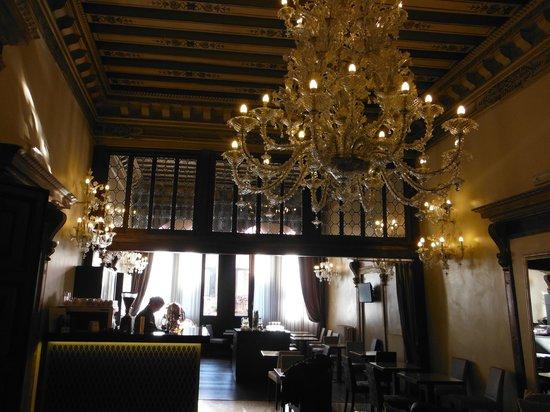 Arcadia Boutique Hotel: soffitto sala coalzione