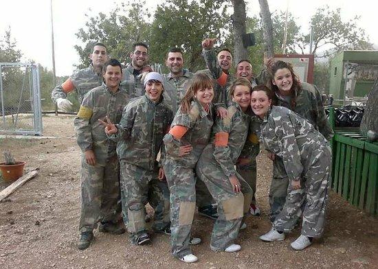 Paintball Castellón: Grupos