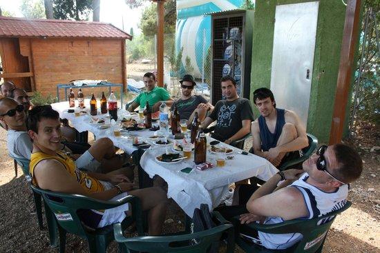 Paintball Castellón: zona de picnic