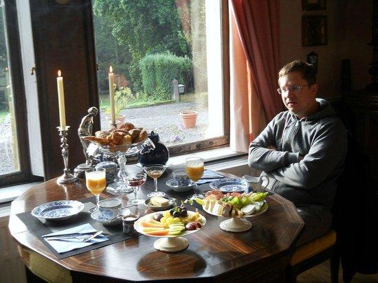 Chateau De Hodbomont : Завтрак