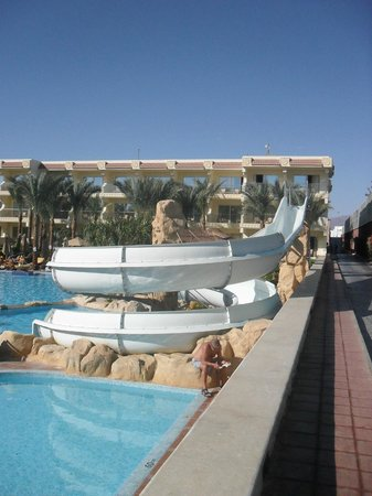 Xperience Sea Breeze Resort: One of the many pools between accommodation blocks