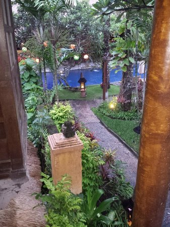 Hotel Tugu Bali: The pool from our room