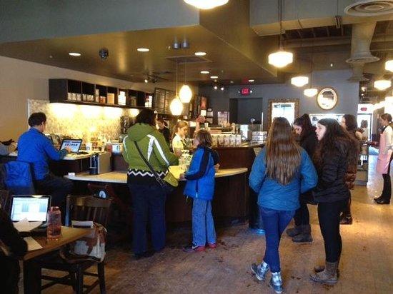 Starbucks - inside