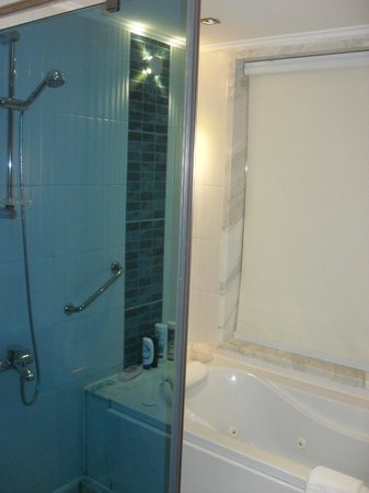 Xperience Sea Breeze Resort: Good powerful shower