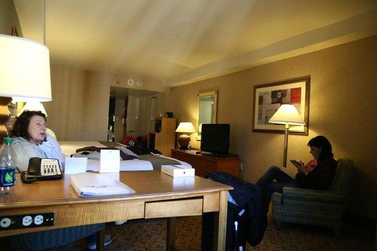Holiday Inn Express Philadelphia-Midtown: Quarto duplo