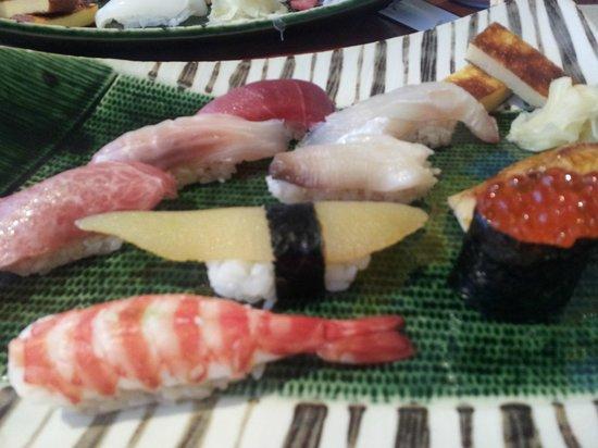 Sushi Kyotatsu: Sushi combo