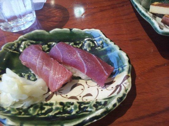 Sushi Kyotatsu: Wild Caught Blue Fin Tuna