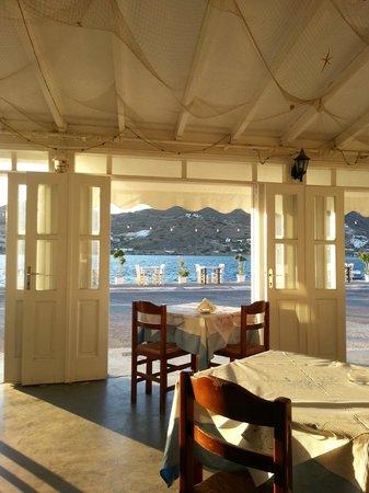 Aphrodite Restaurant : Вид на бухту