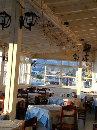 Aphrodite Restaurant : Интерьер