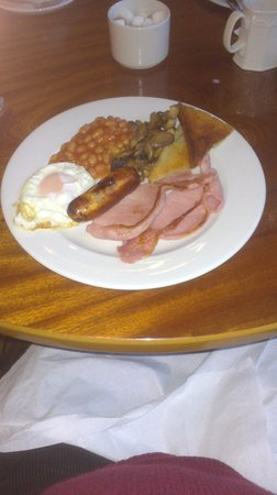 "BEST WESTERN Oaklands Hall Hotel: Lincolnshire ""Full English"""