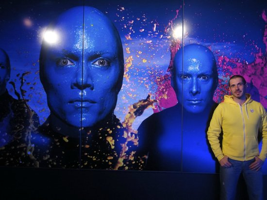 Simon-Dach Apartments: I Blue man group,fantastici!