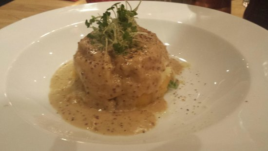 The Chophouse Brasserie and Bar : HAggIS nEEpS & TATTIES The Scottish favourite – a tower of haggis  neeps & tatties with a mustar