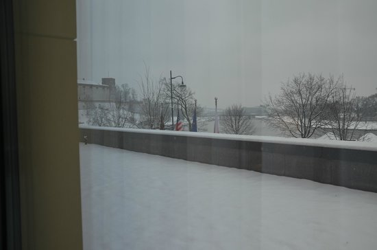 Sheraton Grand Krakow: Blick aus dem Suitefenster