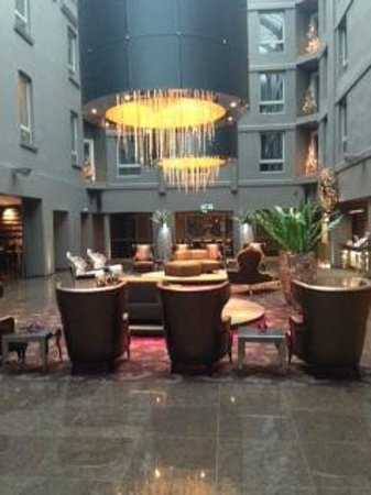 Clarion Hotel Ernst: Lobby (Tag)