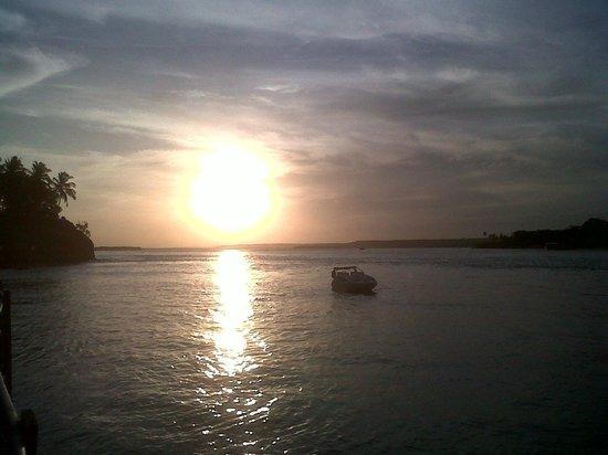 Guarairas Beach: atardecer