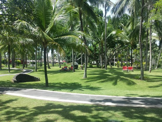 Club Med Bali : the grounds