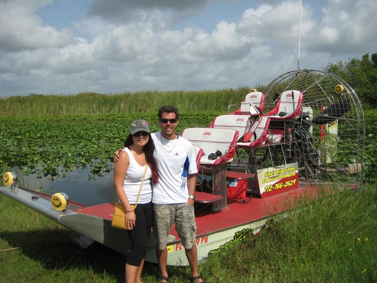 Gator Bait Airboat Adventures: Great Time!!